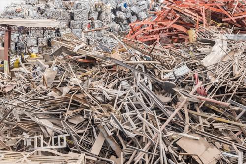 Sucatas de ferro e aço